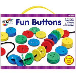 Joc de indemanare GALT Fun Buttons, 3 - 6 ani, multicolor