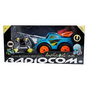 Masina cu radiocomanda RADIOCOM Amphibious 39006J, 3 ani+, albastru-portocaliu