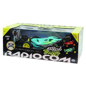 Masina cu radiocomanda RADIOCOM Minni buggy 40651J, 3 ani+, turcoaz-negru
