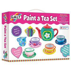 Set ceramica GALT Picteaza un set de ceai A3975K, 5 - 8 ani, multicolor