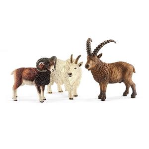 Set figurine SCHLEICH Animale montane SL41459, 3 ani+, alb-maro