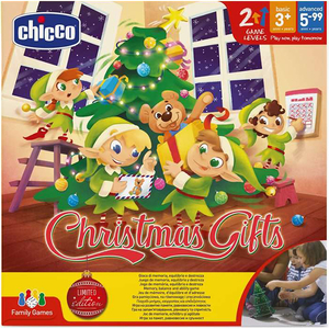 Joc educativ CHICCO Darurile Craciunului, 3 - 6 ani, multicolor