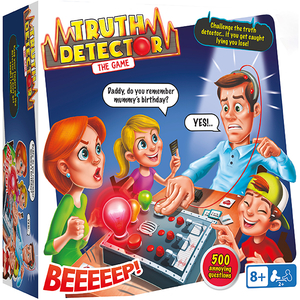 Joc de societate IMC Detectorul de Minciuni 96967, 8 ani+, 2 - 10 jucatori