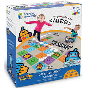 Joc de logica STEM LEARNING RESOURCES Super labirintul LER2835, 5 - 9 ani, multicolor