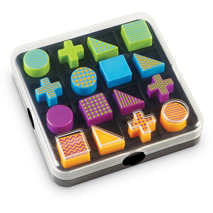 Joc de logica LEARNING RESOURCES Mental Blox Go LER9286, 5 - 9 ani, multicolor