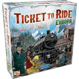 Joc de societate ASMODEE Ticket to Ride Europe 721802, 8 ani+, 2 - 5 jucatori