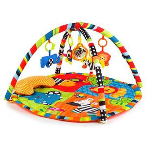 Saltea de joaca JUJU Roll&Joy Zebra JU559601-ZEBRA, 0 - 12 luni, multicolor