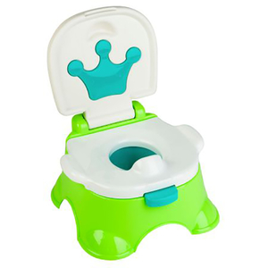 Olita 3 in 1JUJU Naughty Potty JU816620-GREEN, 6luni+, alb-verde