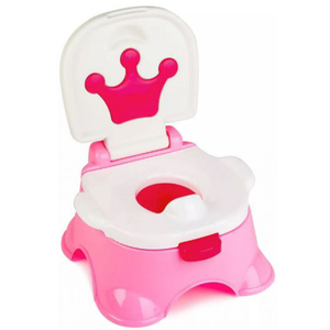 Olita 3 in 1 JUJU Naughty Potty JU816620-PINK, 6luni+, alb-roz