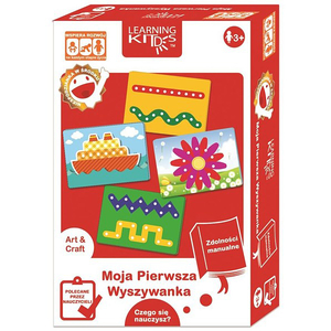 Joc creativ LEARNING KITDS Carduri pentru snuruit PA-9057, 4 ani+, 8 piese