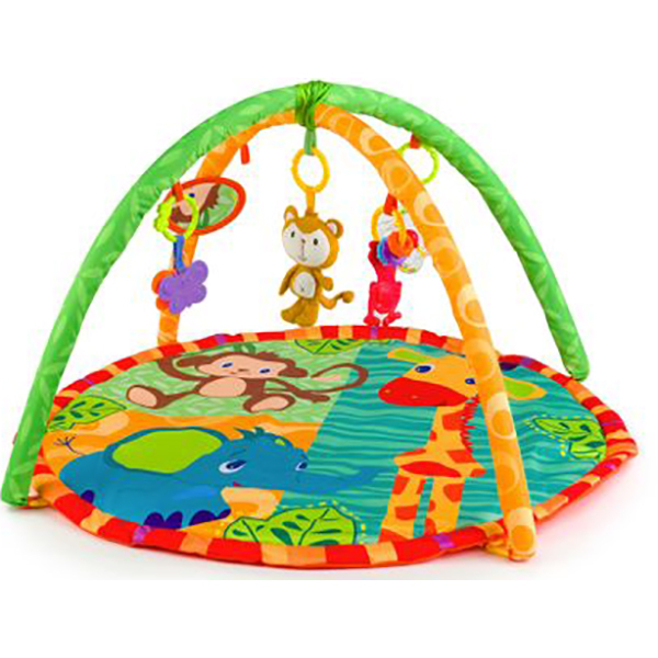 Saltea de joaca JUJU Roll&Joy Monkey JU559819-MONKEY, 0luni+, multicolor