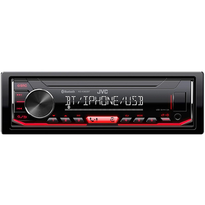 Media receiver JVC KD-X362BT, 4 x 50W, USB, AUX, BT
