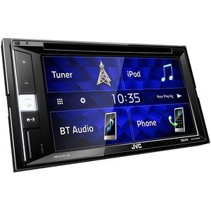 Media receiver auto JVC KW-V250BT, 4 x 50W, CD, DVD, USB