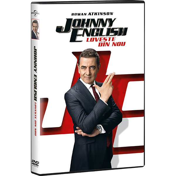 Johnny English Strikes Again DVD