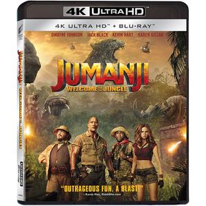 Jumanji: Aventura in jungla UHD 4K