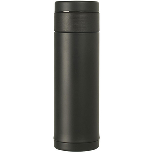 Sticla termos TEFAL Mobility Slim K3069514, 0.42l, otel, negru