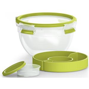 Caserola TEFAL Clip&Go K3100112, 1l, plastic, verde