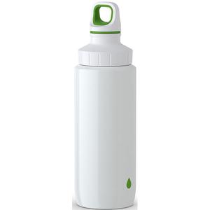 Sticla termos pentru copii TEFAL Light Steel K3194412, 0.6l, inox, alb-verde