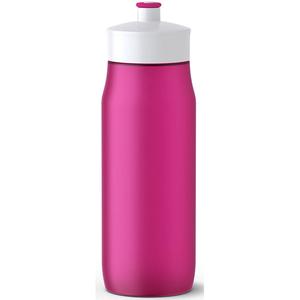 Recipient apa pentru copii TEFAL Squeeze K3200212, 0.6l, inox, roz