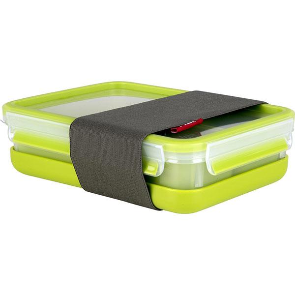 Caserola TEFAL Clip&Go K3100212, 1.2l, plastic, verde