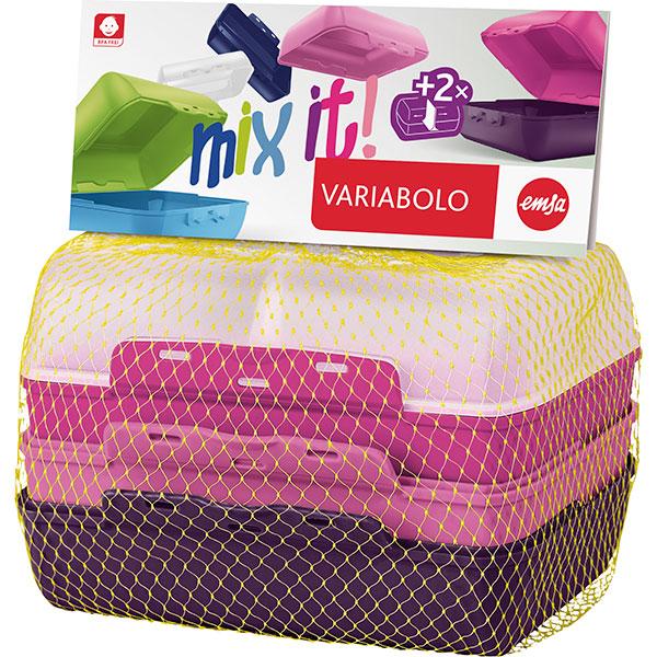 Set caserole pentru copii TEFAL Variabolo K3169014, plastic