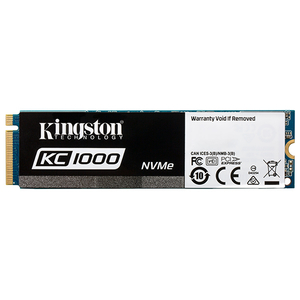 Solid-State Drive KINGSTON KC1000 240GB, M.2 NVMe PCIe, SKC1000/240G