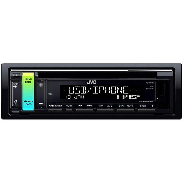 CD player auto JVC KD-R691, 4 x 50W, CD, USB