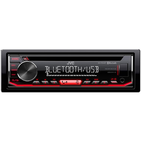 CD player auto JVC KD-R794BT, 4 x 50W, BT, CD, USB