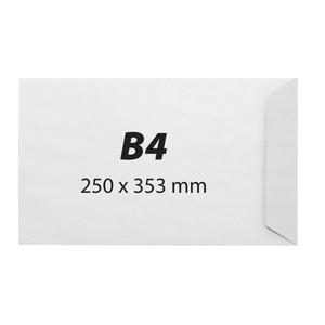 Plic pentru documente siliconic VOLUM, B4, 250 bucati