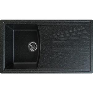 Chiuveta bucatarie GORENJE KVE KM 3, 1 cuva, picurator reversibil, compozit, negru