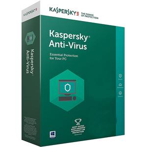 Kaspersky Antivirus, 1 an, 3 utilizatori, Retail
