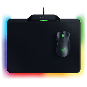 Kit Gaming mouse si mouse pad RAZER Mamba HyperFlux + Firefly HyperFlux Wireless Power