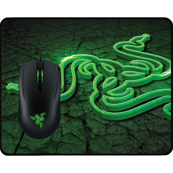 Kit Gaming mouse si mouse-pad gaming RAZER Abyssus 2000 + Goliathus Control Fissure
