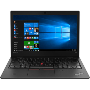 "Laptop LENOVO ThinkPad L380, Intel Core i5-8250U pana la 3.4GHz, 13.3"" Full HD, 8GB, SSD 256GB, Intel UHD Graphics 620, Windows 10 Pro, Negru"