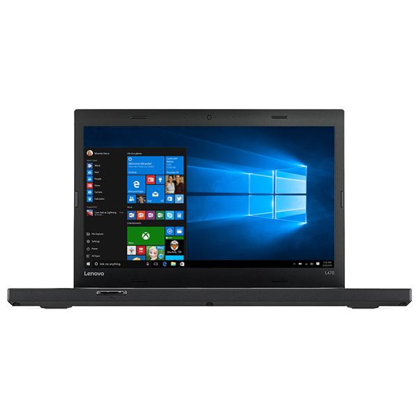 "Laptop LENOVO ThinkPad L470, Intel® Core™ i5-7200U pana la 3.1GHz, 14"" Full HD, 8GB, SSD 256GB, Intel HD Graphics 620, Windows 10 Pro"