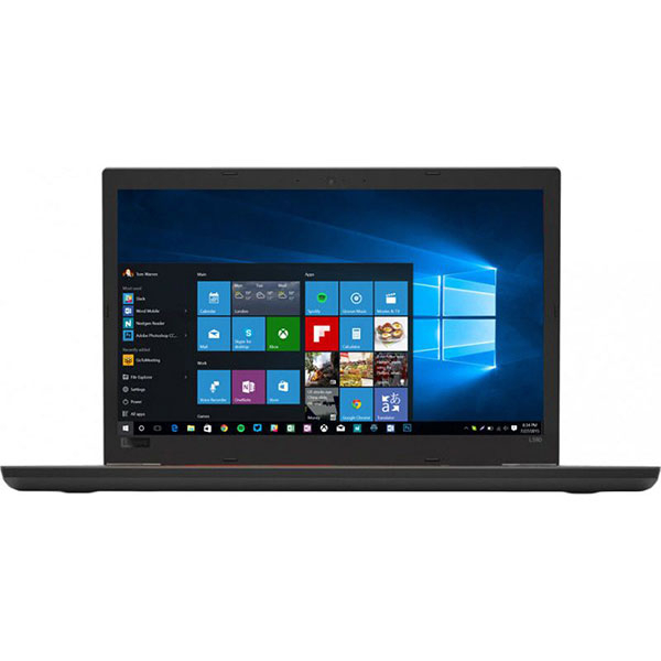 "Laptop LENOVO ThinkPad L580, Intel Core i5-8250U pana la 3.4GHz, 15.6"" Full HD, 8GB, SSD 512GB, Intel UHD Graphics 620, Windows 10 Pro, Negru"