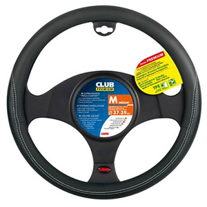Husa volan auto LAMPA Club Premium LAM33066, negru