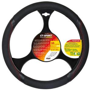 Husa volan auto LAMPA GT-Sport LAM33133, negru