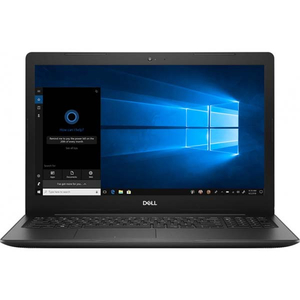 "Laptop DELL Vostro 3580, Intel Core i7-8565U pana la 4.6GHz, 15.6"" Full HD, 8GB, SSD 256GB, AMD Radeon 520 Graphics 2GB, Windows 10 Pro, negru"