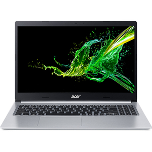 "Laptop ACER Aspire 5 A515-54-731N, Intel Core i7-8565U pana la 4.6GHz, 15.6"" Full HD, 8GB, SSD 512GB, Intel UHD Graphics 620, Linux, argintiu"