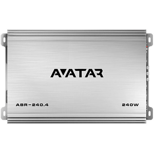 Amplificator auto AVATAR ABR 240.4, 4 canale, 240W