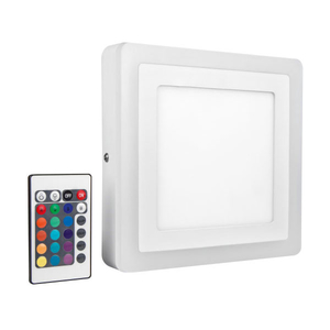 Plica LED cu telecomanda OSRAM Square, 19W, alb