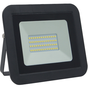 Proiector LED WELL LEDFC-SPARKLE30BK-WL, 30W, 2400 lumeni, IP65, negru
