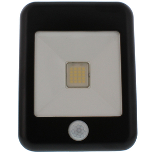 Proiector LED cu senzor de miscare WELL LEDFN-FLASHY20BKPIR-WL, 20W, 1600 lumeni, IP65, negru