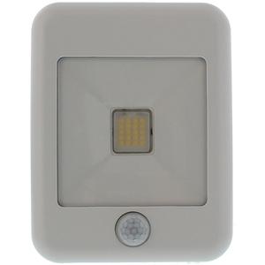 Proiector LED cu senzor de miscare WELL LEDFN-FLASHY20WEPIR-WL, 20W, 1600 lumeni, IP65, alb
