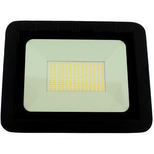 Proiector LED WELL LEDFN-SPARKLE100BK-WL, 100W, 8000 lumeni, IP65, negru