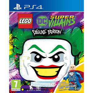 LEGO DC Super-Villains Minifigures Edition PS4