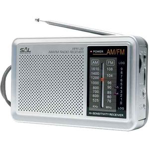 Radio portabil SAL RPR 2B, AM/FM, gri