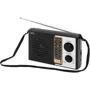 Radio portabil SAL RPR 4B, AM/FM, 4 benzi, negru