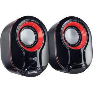 Boxe HAMA Sonic LS-204, 2.0, 4W, negru